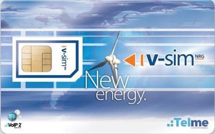 Telme VSIM GSM NRG Telefon Kártya